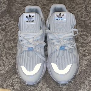 Adidas chunky torsion sneakers 8